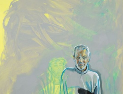 Malerin stiftet Gemälde
